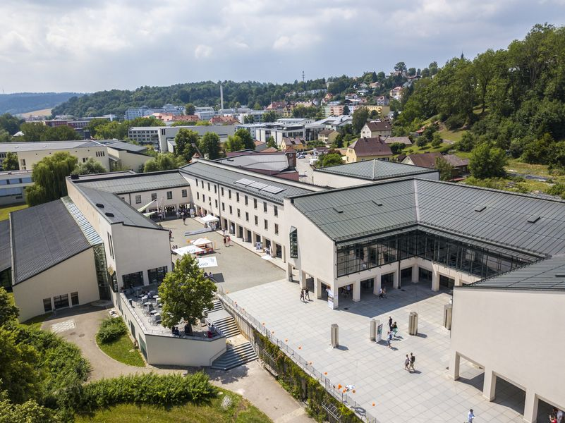 A view of the campus of the University of Passau